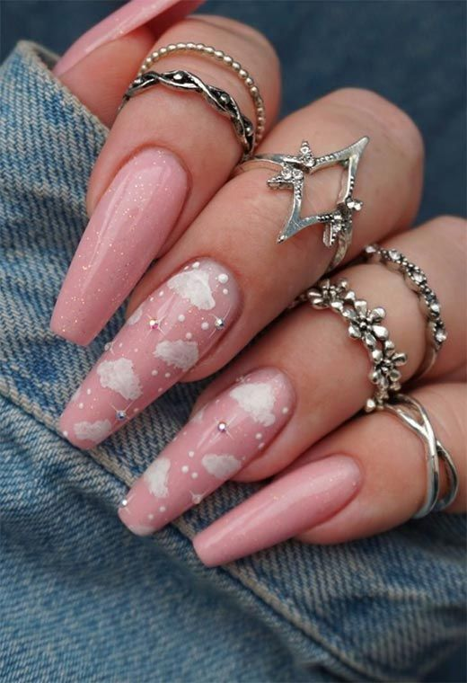 30 Cute Pink Nails to Elevate your Feminine Style 11