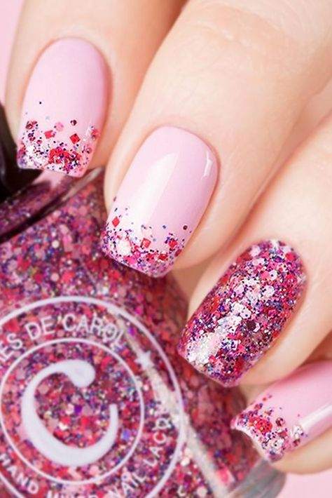 30 Cute Pink Nails to Elevate your Feminine Style 13