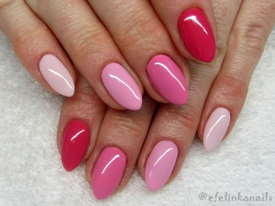30 Cute Pink Nails to Elevate your Feminine Style 28