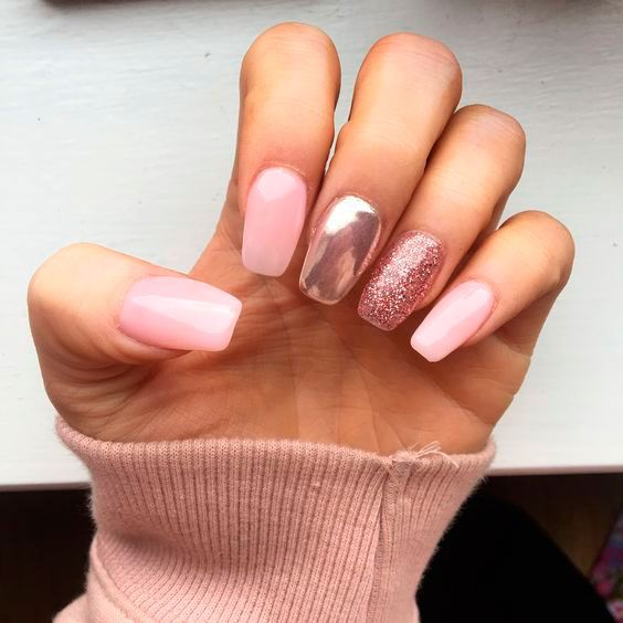 30 Cute Pink Nails to Elevate your Feminine Style 29
