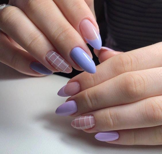 30 Elegant Purple Nails to Complement Your Outfits 13