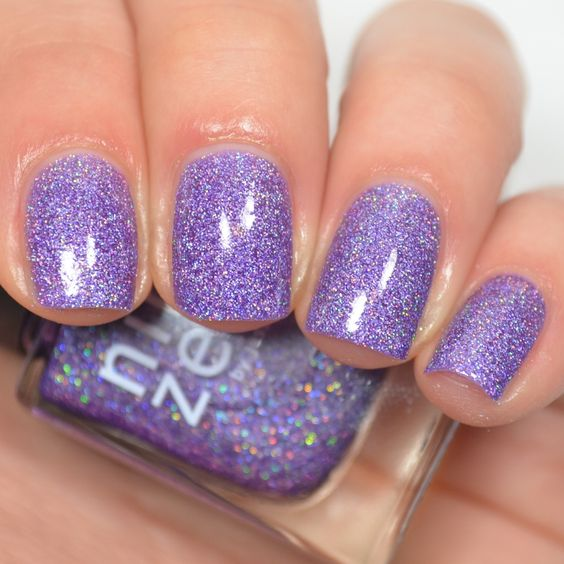 30 Elegant Purple Nails to Complement Your Outfits 17