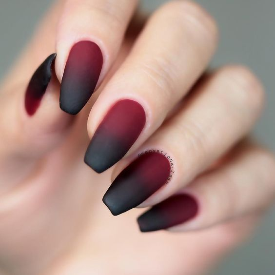 30 Cute Red Acrylic Nails to Embellish Your Hands 6
