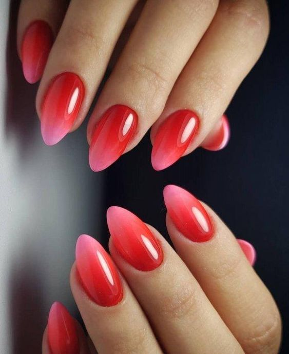 30 Cute Red Acrylic Nails to Embellish Your Hands 27