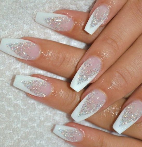 30 Modern White Tip Nails for Every Personality 3