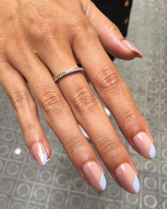 30 Modern White Tip Nails for Every Personality 6