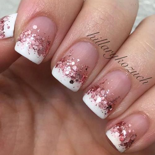 30 Modern White Tip Nails for Every Personality 13
