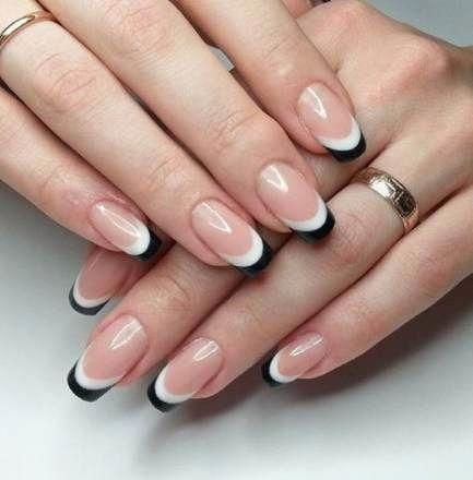 30 Modern White Tip Nails for Every Personality 20