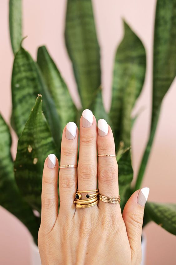 30 Modern White Tip Nails for Every Personality 22