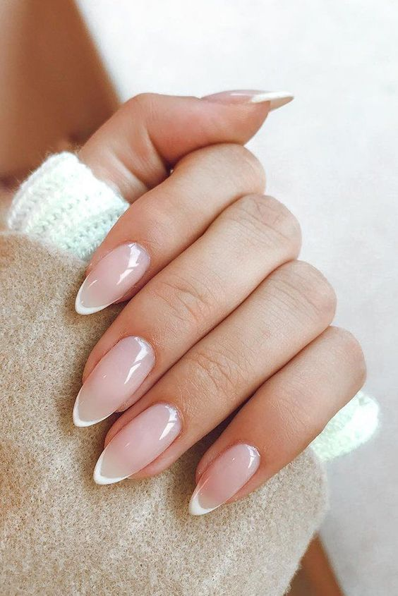 30 Modern White Tip Nails for Every Personality 24