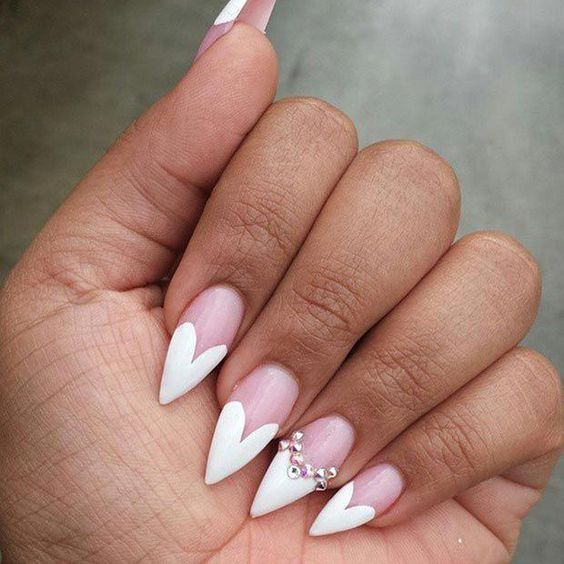 30 Modern White Tip Nails for Every Personality 30