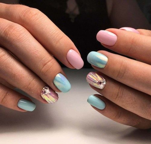 30 Mermaid Nails Design to Step-Up Your Mani Game 6