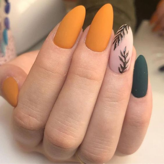 30 Amazingly Cute Yellow Acrylic Nails to Shake Things Up 30