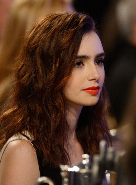 Lily Collins - 15th Annual Costume Designers Guild Awards With Presenting Sponsor Lacoste - Backstage & Audience
