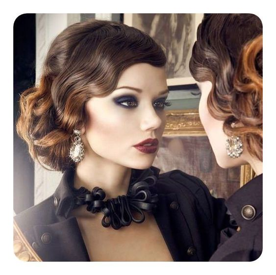 74 Outstanding Finger Waves hairstyle Mostly Preferred #finger #hairstyle #mostly #outstanding #preferred #waverhairstyles #waves