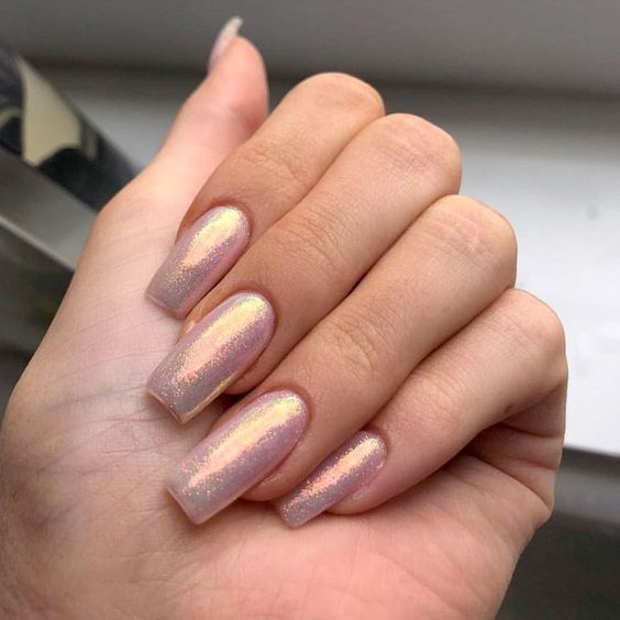 30 Ways to Spice Up Holographic Nails Look 8