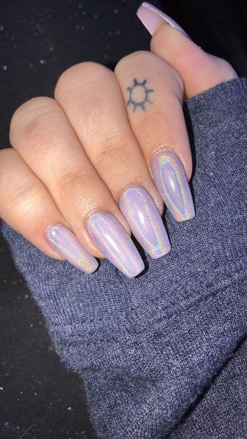 30 Ways to Spice Up Holographic Nails Look 29