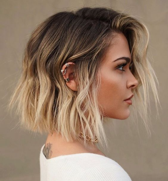 30 Ways to Bump Up A Layered Bob Cut 1