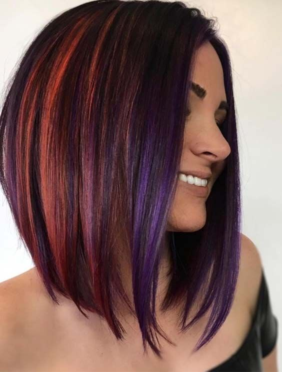 If you are thinking to replace your existing haircuts with some best styles then we are here to show off you unique styles of long bob haircuts with red shades. You must try this best bob cut for more cute personality in 2019.
