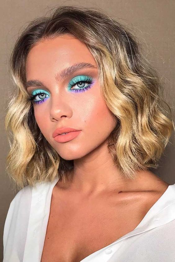 makeup inspiration tips looks euphoria colorful bold eye makeup cruelty free affordable