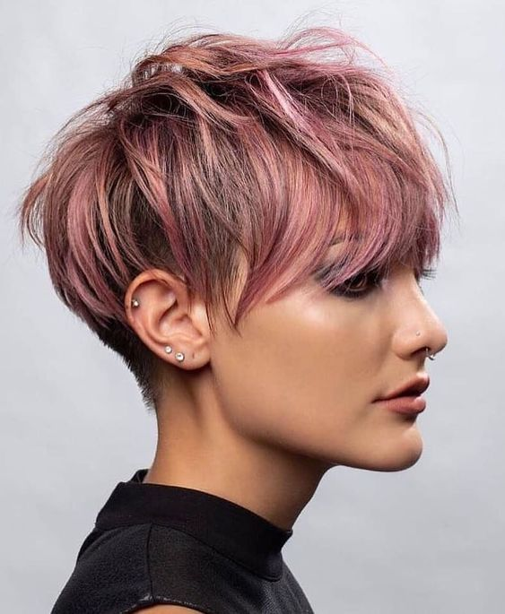 30 Breathtaking Long Pixie Cut Design Ideas 1