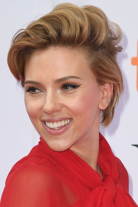 Scarlett Johansson, Before and After | Beautyeditor