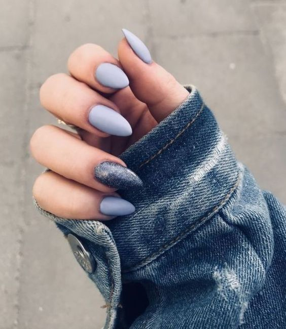 30 Beautiful Matte Nails for a Trendy Style 2