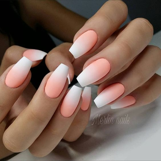 30 Beautiful Matte Nails for a Trendy Style 19