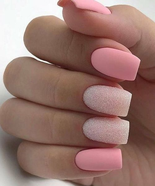 30 Beautiful Matte Nails for a Trendy Style 25