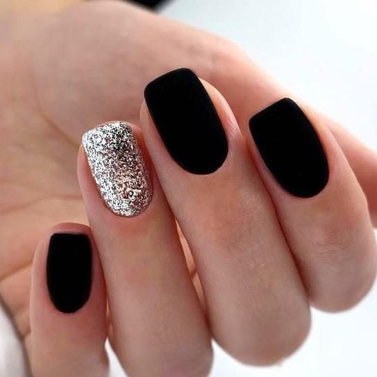 30 Beautiful Matte Nails for a Trendy Style 26