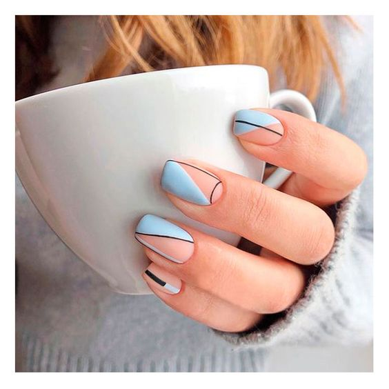 30 Beautiful Matte Nails for a Trendy Style 27