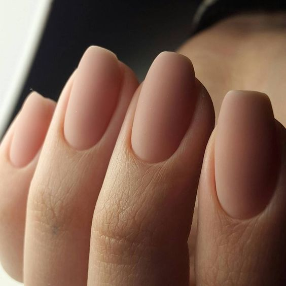 30 Beautiful Matte Nails for a Trendy Style 30