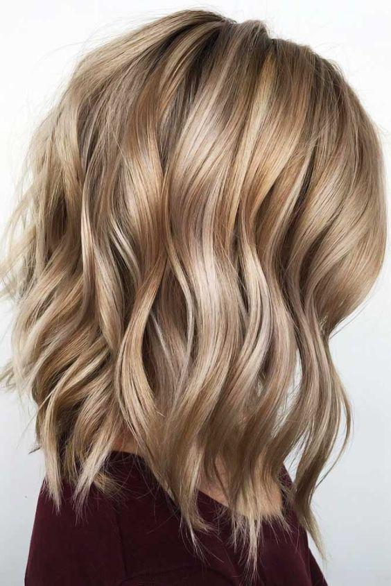 24 Adorable Medium Length Haircut to Shine  #Hairstyles