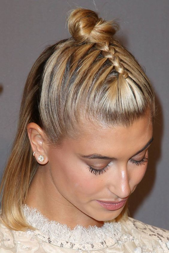 Told you the braid was AH-mazing...
