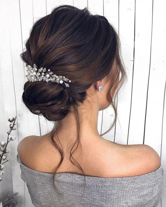 Hairstyles For the Elegant Bride Archives 1 - I Take You | Wedding Readings | Wedding Ideas | Wedding Dresses | Wedding Theme #weddinghair