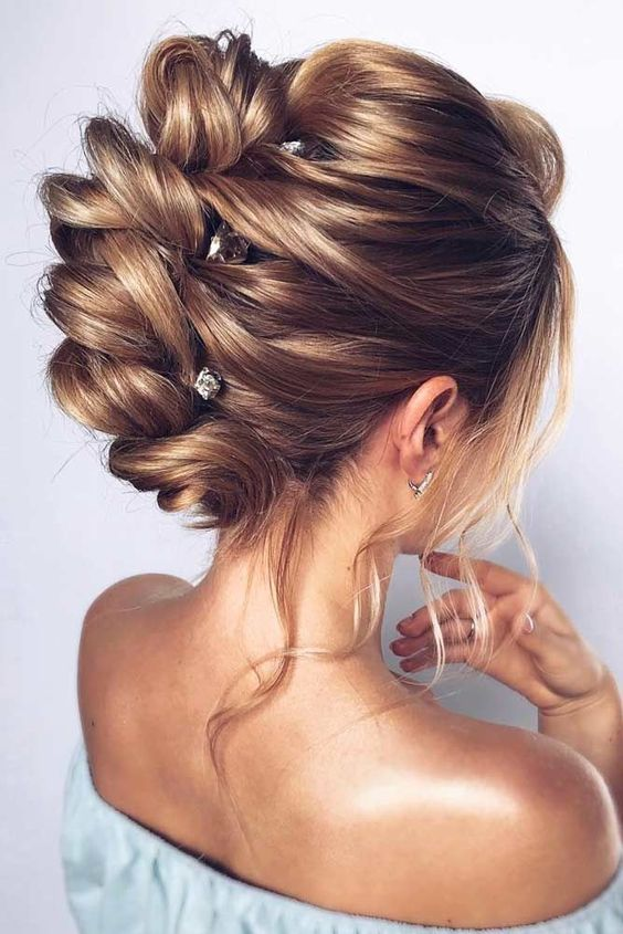 Wedding Hairstyles For Long Hair   - Browse our gallery of wedding hairstyles for medium hair and find the perfect one for yourself. Find out some hacks and guidelines for a flawless 'do.