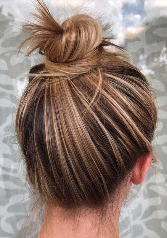Most Amazing Top Knot Bun Hairstyles You Must Try in 2018 | Stylesmod