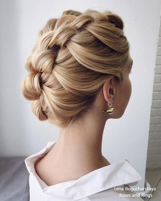 Lena Bogucharskaya Wedding Hairstyles and Updos #weddings #hairstyles #weddinghairstyles #weddingideas