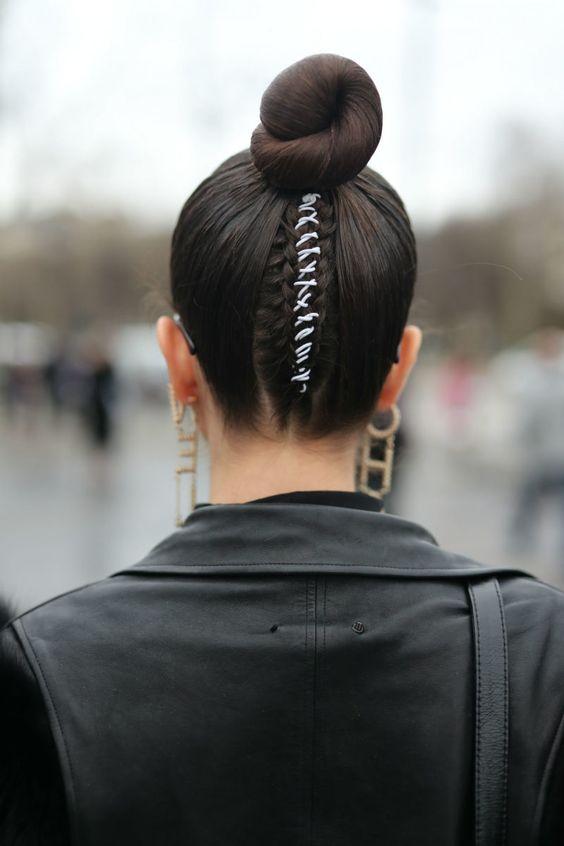 My Paris Fashion Week Recap #paolaalberdi #hairstyle #fashionweek #sleekbun