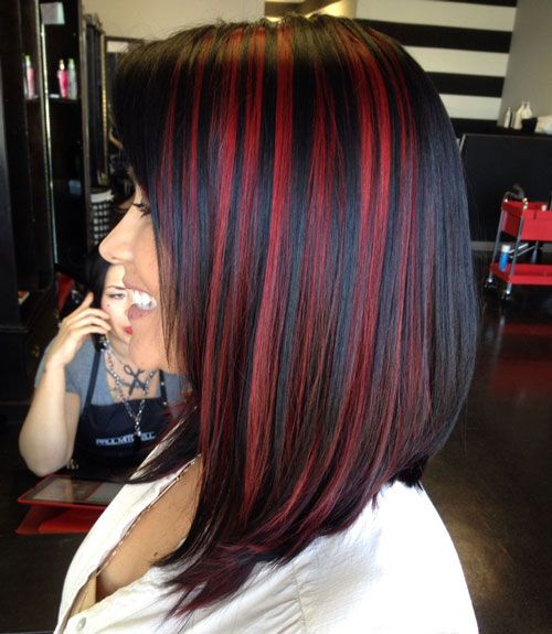 30 Black Hair With Highlight Ideas that Will Transform Your Style 9