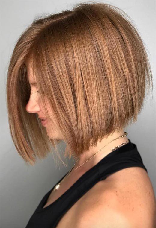 61 Cute Short Bob Haircuts: Short Bob Hairstyles for Every Face Shape