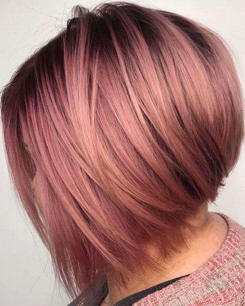 19.Trendy Hair Colors for Short Hair